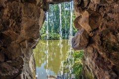 瀑布在南特 库存照片