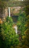 瀑布在南部高地 库存照片