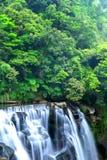 瀑布在台湾 库存图片