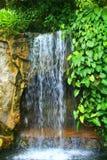 瀑布在吉隆坡马来西亚 库存照片