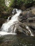 瀑布在喀拉拉 免版税库存图片