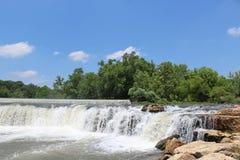 瀑布在密苏里 免版税库存照片