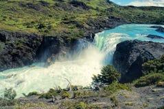 瀑布在托里斯del潘恩 免版税库存图片