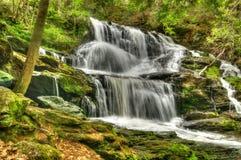 瀑布在新罕布什尔 免版税库存图片