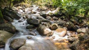 瀑布在森林国家公园泰国 图库摄影