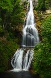 瀑布在法国 库存图片