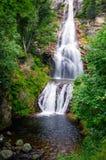 瀑布在法国 库存照片