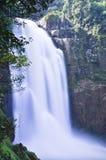 瀑布在泰国 库存照片