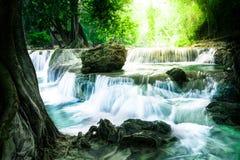 瀑布在泰国 免版税图库摄影