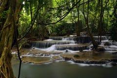 瀑布在泰国3 库存图片