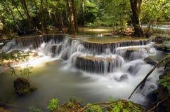 瀑布在泰国2 免版税库存照片