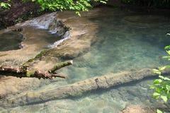 瀑布在洛维奇,保加利亚 免版税库存图片