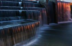 瀑布在米斯克 库存图片