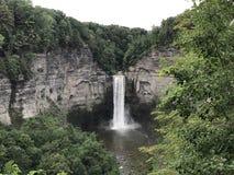 瀑布在纽约 免版税库存图片