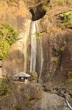 瀑布在菲律宾 库存照片