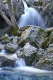 瀑布在西班牙 瓜达尔基维尔河河的来源在安达卢西亚 图库摄影