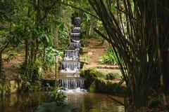 瀑布在里约热内卢 免版税库存图片