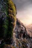 瀑布在阿嫩托,西班牙 库存图片