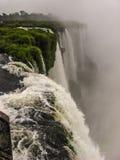 瀑布在巴西 免版税库存图片