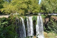 瀑布在Antalia 库存图片