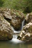 瀑布在Arieseni, Apuseni山 免版税库存图片
