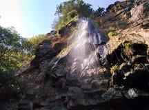 瀑布在Masalli 免版税库存图片