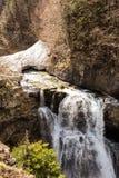 瀑布在Ordesa国家公园 免版税库存照片