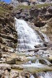 瀑布在Ordesa国家公园 库存照片