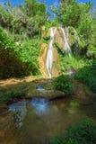 瀑布在Topes de Collantes,古巴 库存照片
