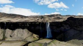 瀑布天线在冰岛 股票视频