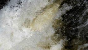 瀑布小河水在下雨以后的 股票录像