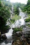 瀑布是一美丽一个 库存照片