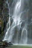 瀑布横向 免版税库存图片