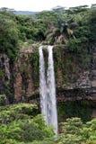 瀑布毛里求斯 免版税库存照片