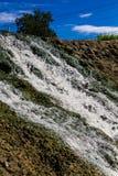 瀑布混凝土 库存照片