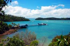 瀑布港口,昆士兰,澳大利亚。 库存图片