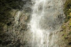 瀑布的中部 免版税库存图片