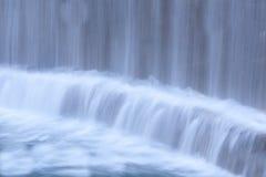 瀑布的近景 库存图片