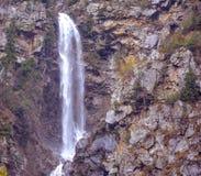 瀑布风景看法在Naran Kaghan谷,巴基斯坦 图库摄影
