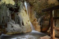 瀑布,克罗地亚 图库摄影