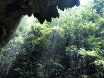 瀑布,武陵源,中国 库存图片