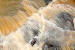 瀑布,泰国迷离背景  免版税库存照片