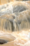 瀑布,泰国迷离背景  库存照片