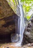 瀑布,自然,石头,北部东部俄亥俄,克利夫兰,哦,美国 库存图片