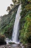 瀑布, Chiloe海岛,智利 免版税图库摄影