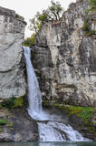 瀑布, El Chalten,阿根廷 免版税库存图片
