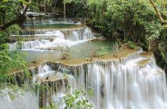 瀑布, Huay Mae Kamin 库存图片