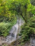 瀑布,ubud,印度尼西亚 免版税库存照片