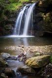 瀑布-小瀑布-北约克郡-英国 免版税图库摄影