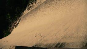 滔滔瀑布&浪花从水坝,山台山 影视素材